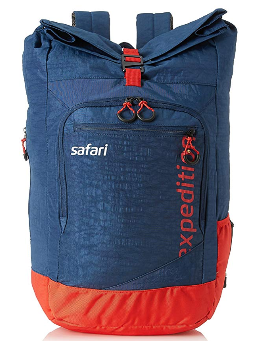 Safari 37.8 Ltrs Teal Casual Backpack