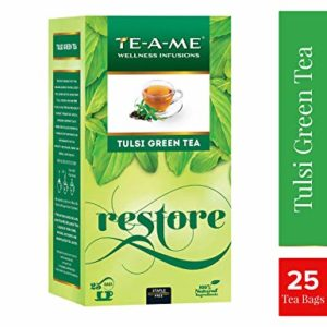 TE A ME Natural Tulsi Green Tea Rs 80 amazon dealnloot