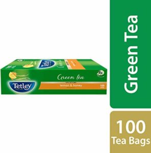 Tetley Green Tea Lemon and Honey 100 Rs 249 amazon dealnloot