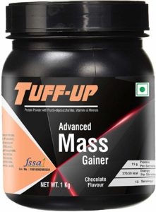 Tuff Up Advanced Mass Gainer 1 kg Rs 449 amazon dealnloot