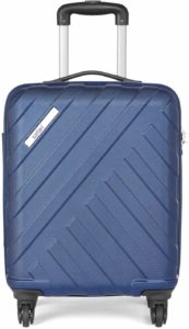 Amazon- Buy Safari RAY Polycarbonate 53 cms Midnight Blue Hardsided Cabin Luggage for Rs 1827