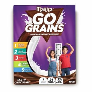 Amazon- Buy Manna Go Grains - Multigrain Instant Drink Mix