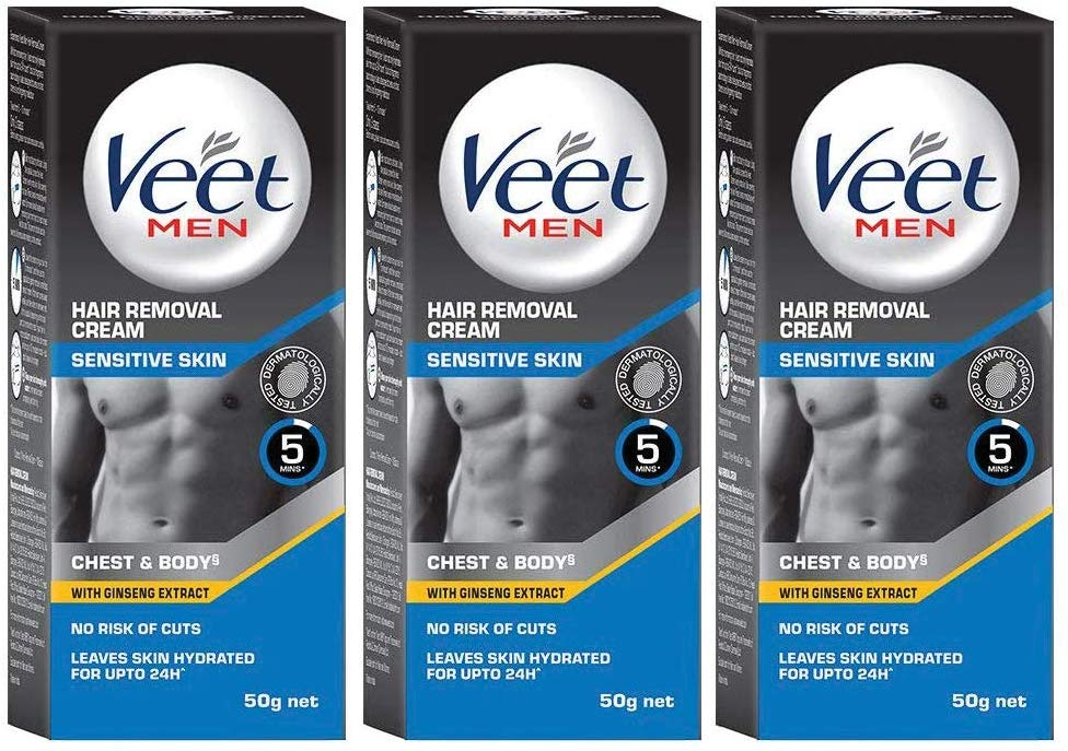 Amazon Buy Veet Hair Removal Cream For Men Sensitive Skin 50g