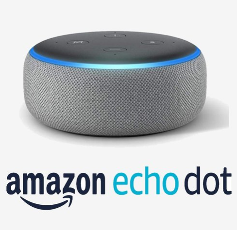 Amazon Echo Dot (3rd Gen) Smart Speaker With Alexa (Grey)