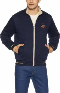 Amazon- Buy Qube By Fort Collins Men's Reversible Jacket at Rs 624