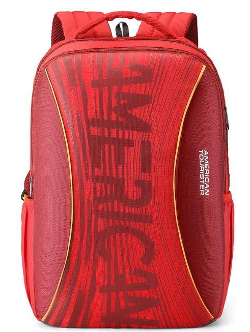 American Tourister Twing 26 Ltrs Red Casual Backpack
