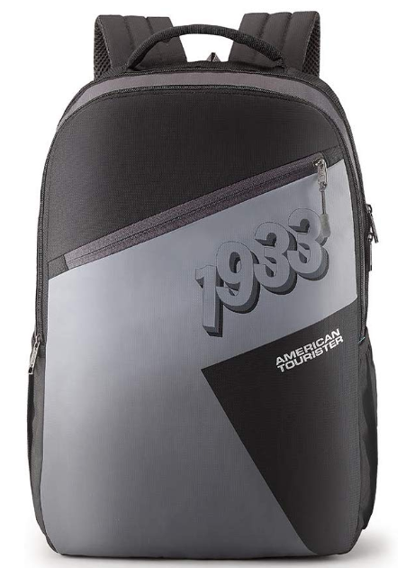 American Tourister Twing 29 Ltrs Black Casual Backpack