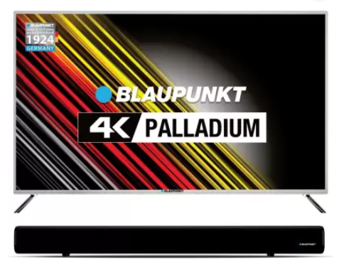 Blaupunkt 127cm (50 inch) Ultra HD (4K) LED Smart TV