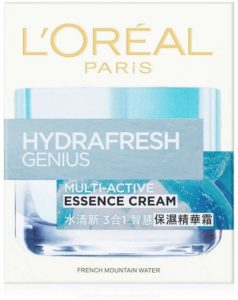 Amazon L'Oreal Paris Hydrafresh Genius Multi-Active Essence Cream, 50ml