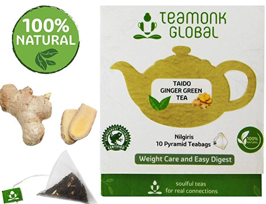 Teamonk Ginger Green Tea