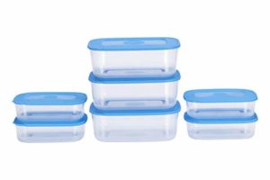 All Time Basic Plastic Container Set 7 Rs 168 amazon dealnloot