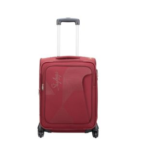 Amazon- Buy Skybags Footloose Hamilton 55 cms Red Softsided Carry-On
