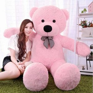 Click4deal Soft Teddy Bear Pink 5 Feet Rs 699 amazon dealnloot