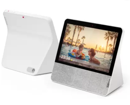 Lenovo Smart Display 7 (with Google Assistant)  (White)