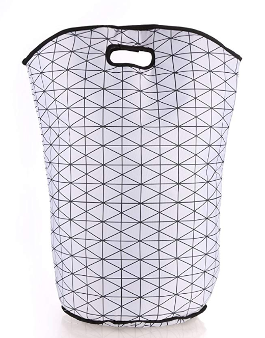 Miamour Fabric Laundry Bag, 20 litres, White