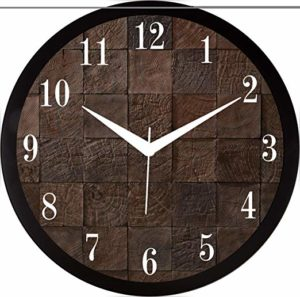 RAG28 11 75 Inches Designer Wall Clock Rs 199 amazon dealnloot