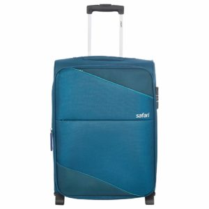 Safari Polyester 75 cms Teal Softsided Check-in Luggage