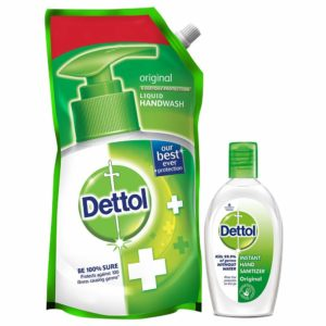 Dettol Hand wash & Sanitizers 50 % off