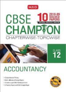 10 Years CBSE Champion Chapterwise Topicwise Accountancy Rs 20 flipkart dealnloot