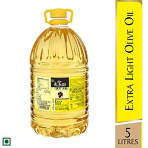 ALLEGRO Olive Oil Extra Light 5 LTR Rs 1740 amazon dealnloot