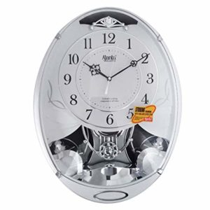 Ajanta Musical Oval Plastic Wall Clock 400 Rs 576 amazon dealnloot