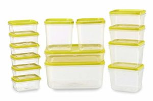 All Time Polka Plastic Container Set 14 Rs 172 amazon dealnloot