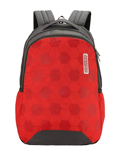 American Tourister Bounce 28 Ltrs Red Casual Backpack