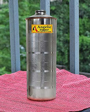 Angelic Copper Bottle, 1 litres, Brown