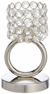 Angelic Ring Shape Steel T Lite Lamp Rs 230 amazon dealnloot