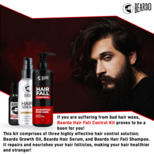 Beardo Hair fall control kit