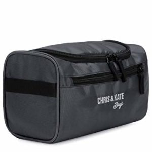 Chris Kate Grey Polyester Hanging Toiletry Bag Rs 99 amazon dealnloot