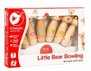 Classic World Little Bear Bowling Multi Color Rs 213 amazon dealnloot