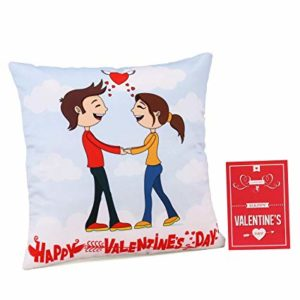 Collectible India Love Quote Cushion Pillow Valentine Rs 79 amazon dealnloot
