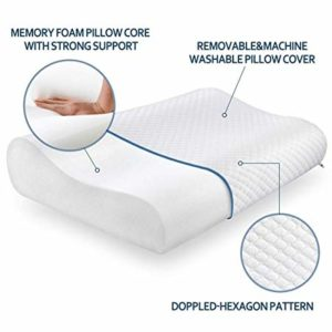 Cusiony Memory Foam Pillow Standard Size Neck Rs 99 amazon dealnloot