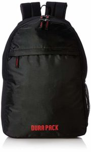 DURAPACK City 22 Ltrs Black Casual Backpack Rs 279 amazon dealnloot