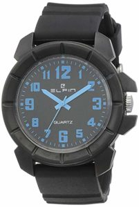 Elfin Analog Black Dial Men s Watch Rs 198 amazon dealnloot