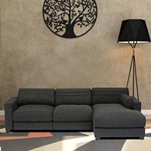 Furny Chapman FHD3065 Four Seater Sofa Grey Rs 15799 amazon dealnloot