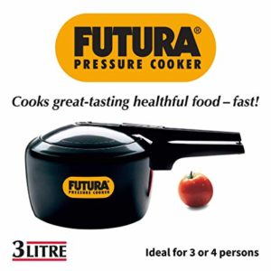 Hawkins Futura Hard Anodised Pressure Cooker 3 Rs 2636 amazon dealnloot