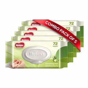 Huggies Baby Wipes Cucumber Aloe Pack of Rs 445 amazon dealnloot