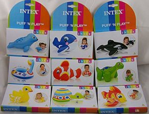 Intex Puff and Play Water Toys Multi Rs 45 amazon dealnloot