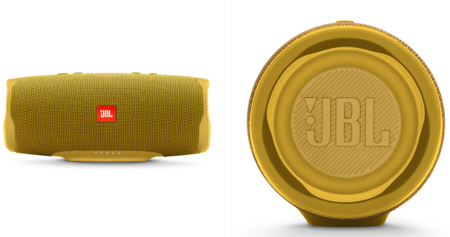 JBL Unisex Yellow Charge 4