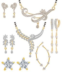 Jewels Galaxy Wedding Collection of 2 Mangalsutra Rs 199 amazon dealnloot