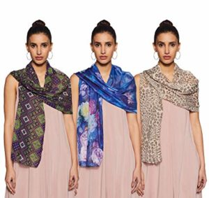 Krave Women s Synthetic Scarf Pack of Rs 92 amazon dealnloot