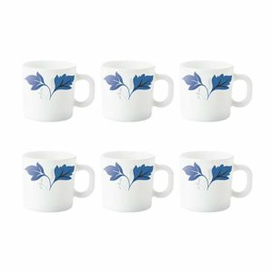 Larah by Borosil Ageria Opalware Cup Set Rs 147 amazon dealnloot