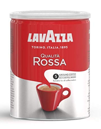 Lavazza Qualita Rossa Ground Coffee Powder, 250g