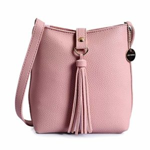 Lino Perros Women s Sling Bag Pink Rs 523 amazon dealnloot