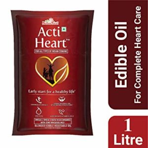 Nature Fresh Acti Heart Edible Oil Pouch Rs 99 amazon dealnloot