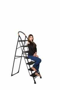 PARASNATH Back Heavy Folding Ladder With Wide Rs 1139 amazon dealnloot