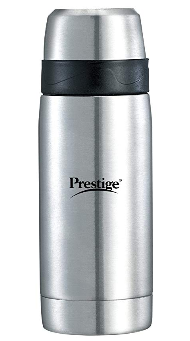 Prestige Thermopro Vaccum Flask, 350ml, Silver