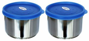 Princeware Dura Fresh Stainless Steel Container Set Rs 196 amazon dealnloot